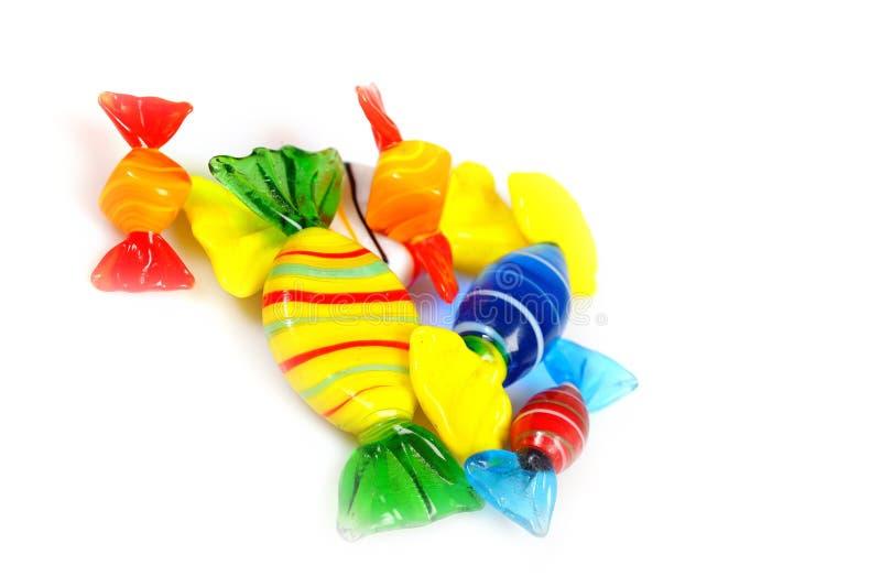 Sucreries colorées multi délicieuses photo libre de droits