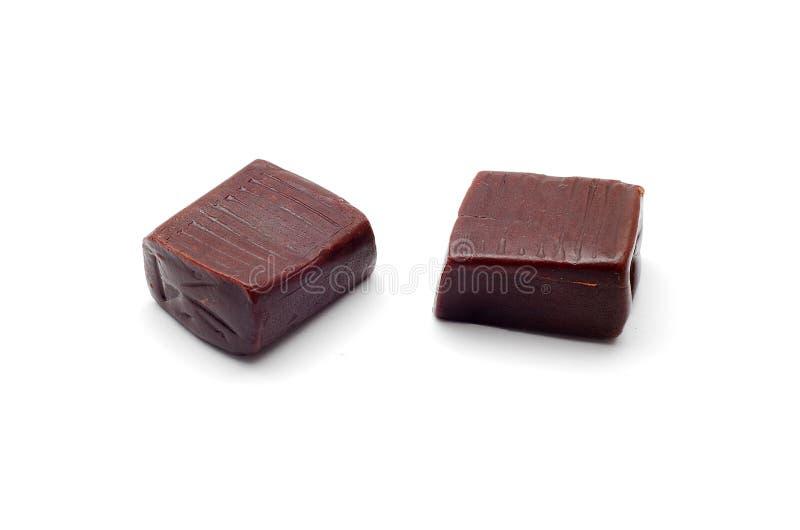 Sucreries de caramel images stock