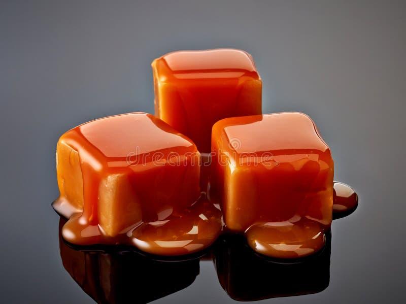 Sucreries de caramel photo libre de droits