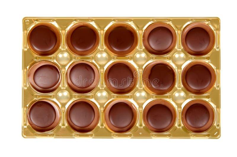 Sucreries de caramel, dessert doux, nourriture malsaine D'isolement illustration libre de droits