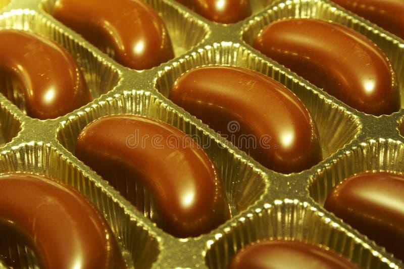 Sucreries de chocolat photographie stock