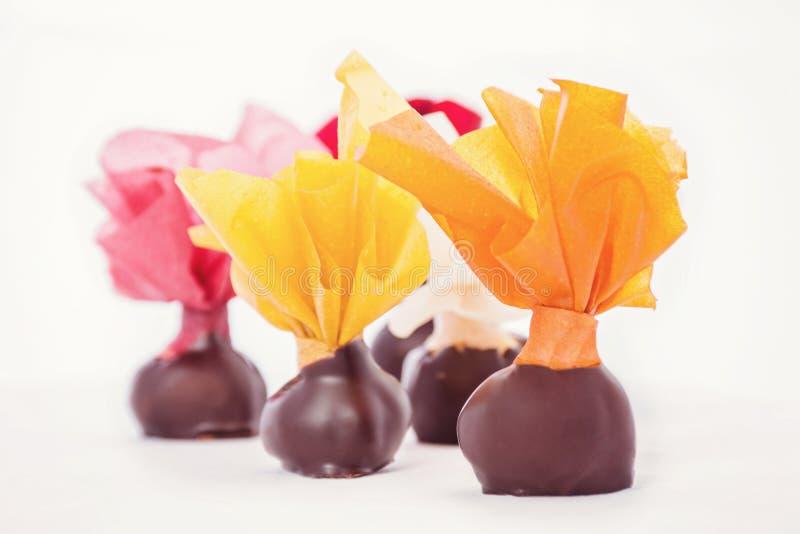 Sucreries de chocolat photos stock