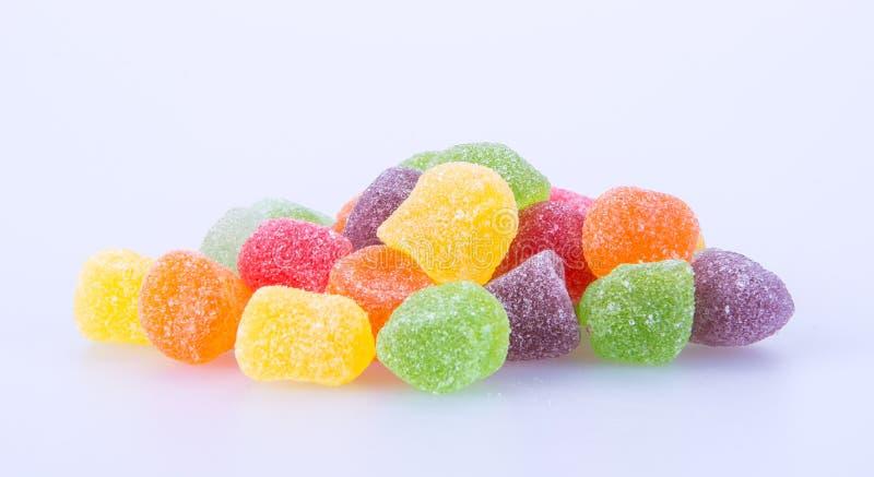 Sucreries sucreries de gelée sur un fond sucreries de gelée sur un backg photo libre de droits