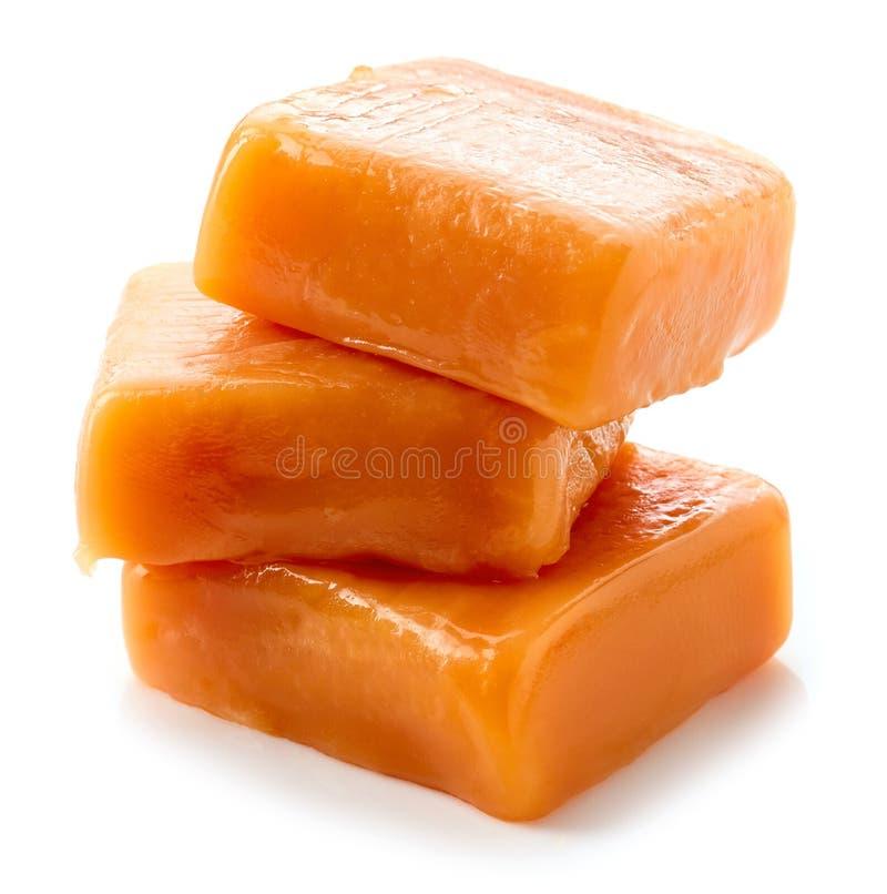 Sucreries molles de caramel photo stock