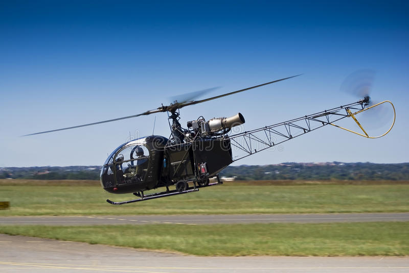 Download Sud Aviation SE-3130 Alouette II Royalty Free Stock Photography - Image: 14285157