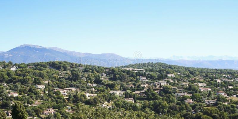 Sud delle ville di Mougins della Francia fotografia stock libera da diritti