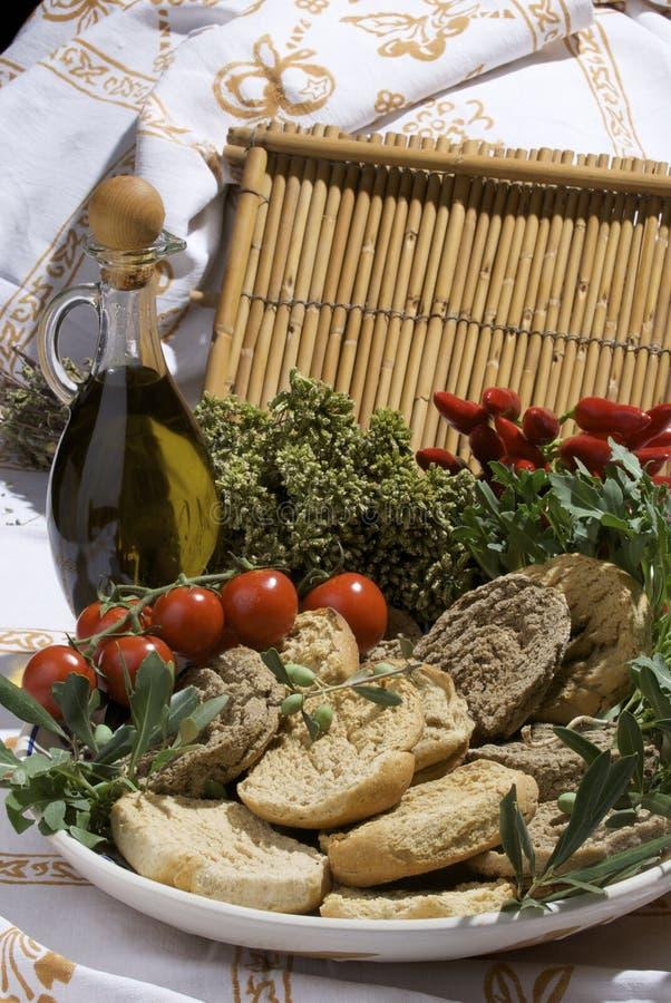 sud italien dur de pain images stock