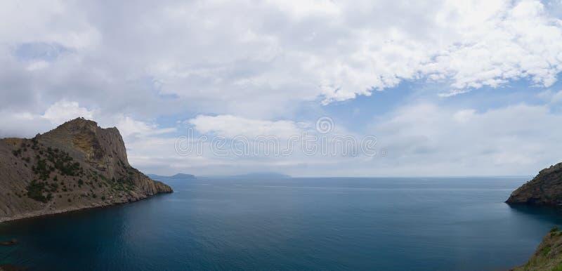Sudak Crimea wakacje obraz royalty free