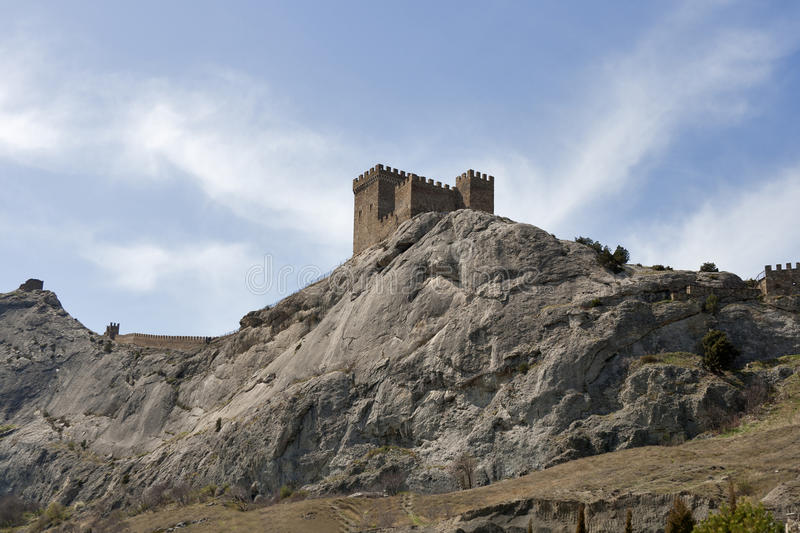 Sudak Fortress Royalty Free Stock Photo