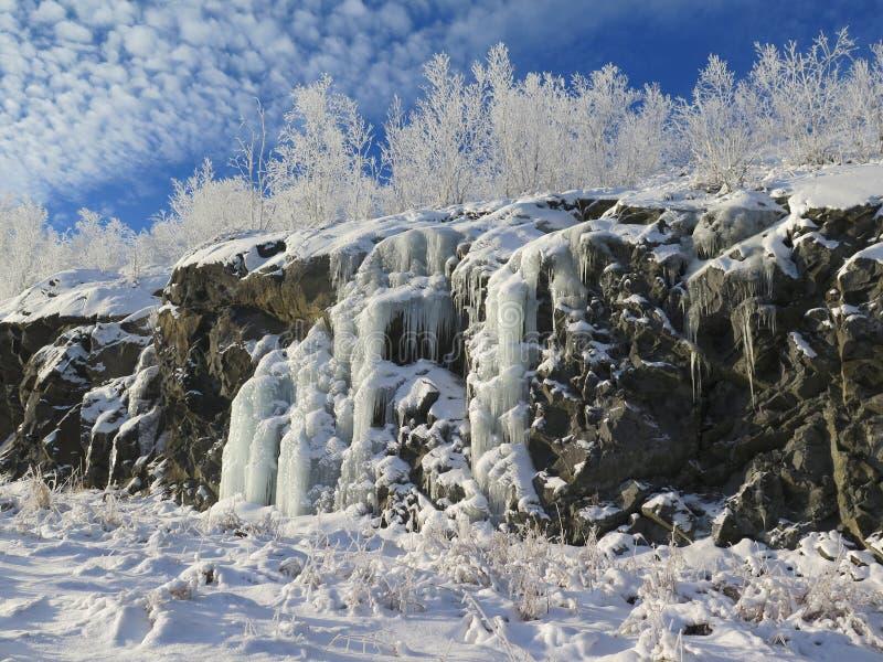 Sudbury Winter Solstice. Sudbury Ontario Canada, Winter Solstice royalty free stock photo