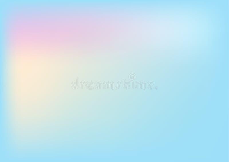 Suddig backgroun för abstrakt idérik lutning för begrepp multicolour royaltyfri bild