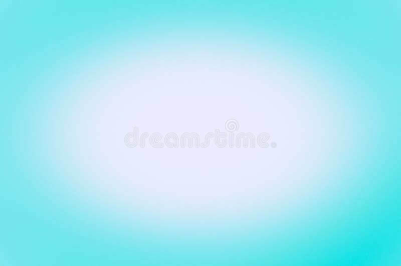 Suddig bakgrund av blåttfärg Insikt i mitten vektor illustrationer