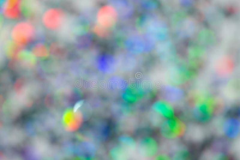 Suddig defocused färgrik ljus bokeh abstrakt bakgrund royaltyfria foton