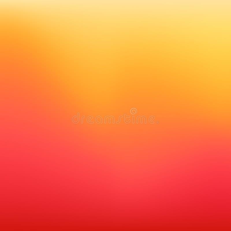 Suddig orange och rosa sommarbakgrund 10 eps vektor illustrationer