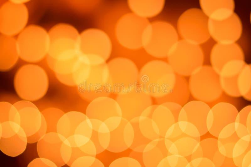 Suddig tänder bokeh bakgrund. Abstrakta ljus. royaltyfri fotografi
