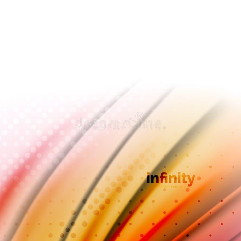 Suddiga blandande flödande färger för flytande, abstrakt bakgrund, mall för rengöringsdukdesign för presentation, app-tapet, bane royaltyfri illustrationer