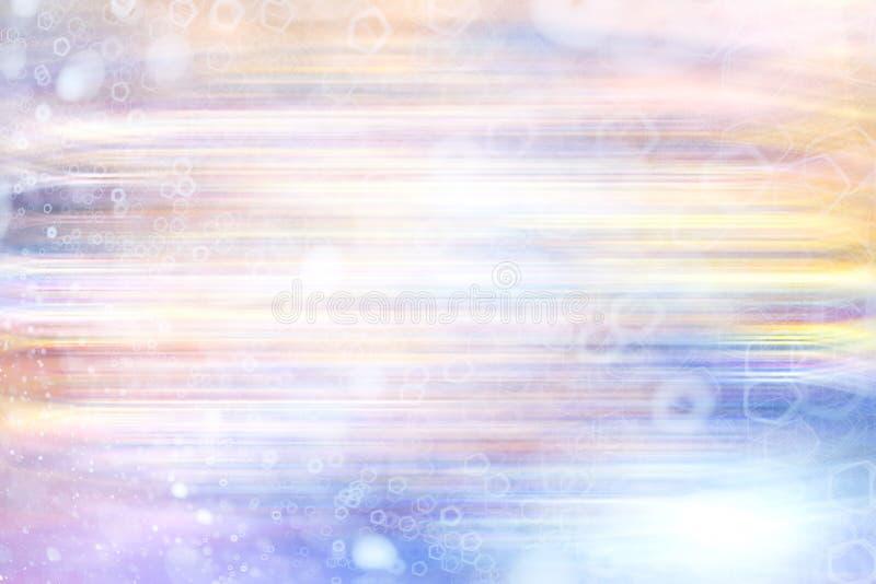 Suddiga färglinjer royaltyfri illustrationer