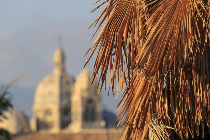 Suddiga Marseille royaltyfria foton