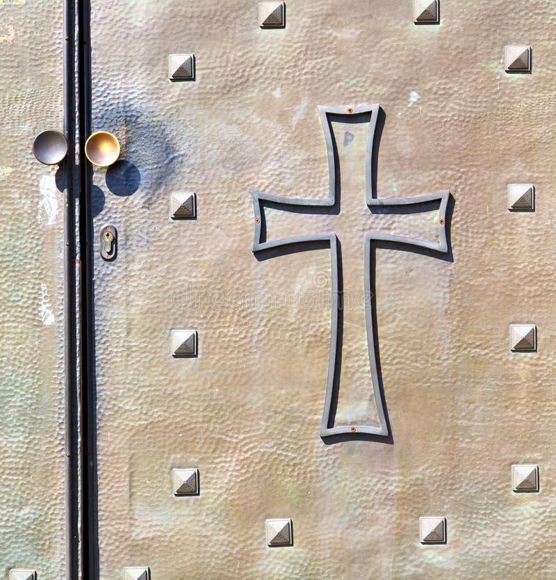 Suddighet f för castellanza för Italien lapplombardy kors royaltyfria bilder