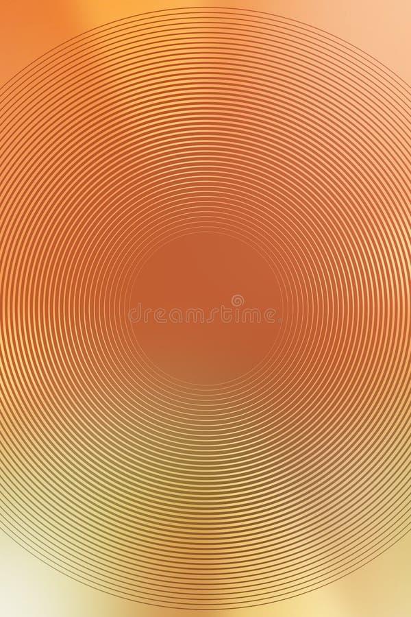 Suddighet f?r guld- textur f?r lutning radiell brigham vektor illustrationer
