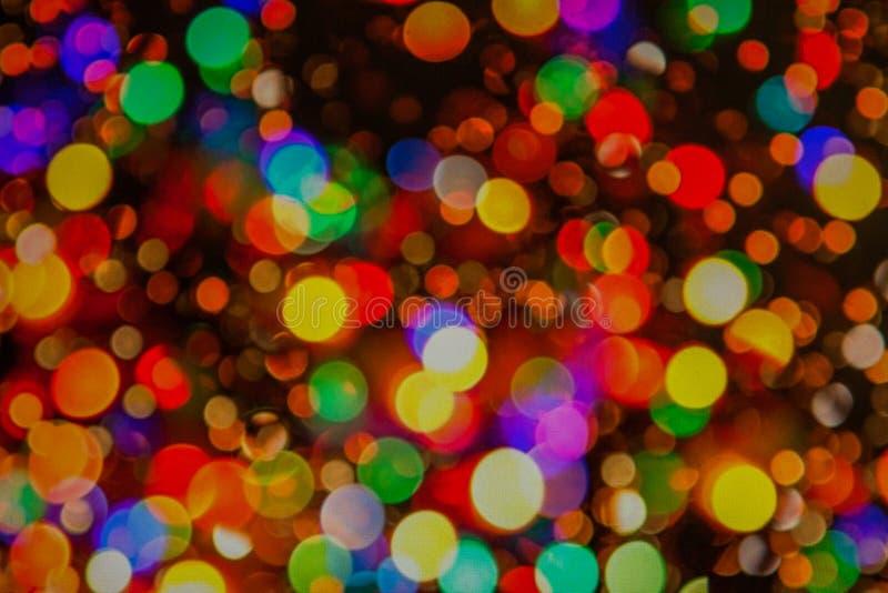 Suddighet f?r stearinljusljusboke f?r bakgrund, suddighet f?r stearinljusljusboke f?r bakgrund Bokee bakgrund arkivbilder
