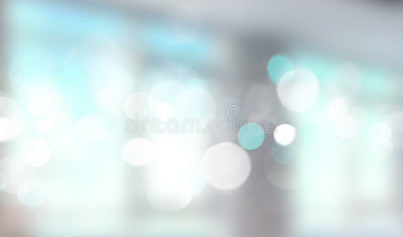 Suddigt baner för blått fönster