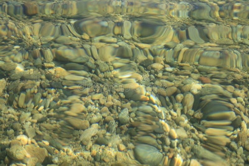 Suddigt vatten för bakgrunder arkivfoton