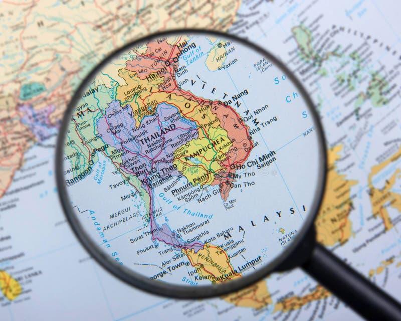 3Sudeste Asiático foto de stock