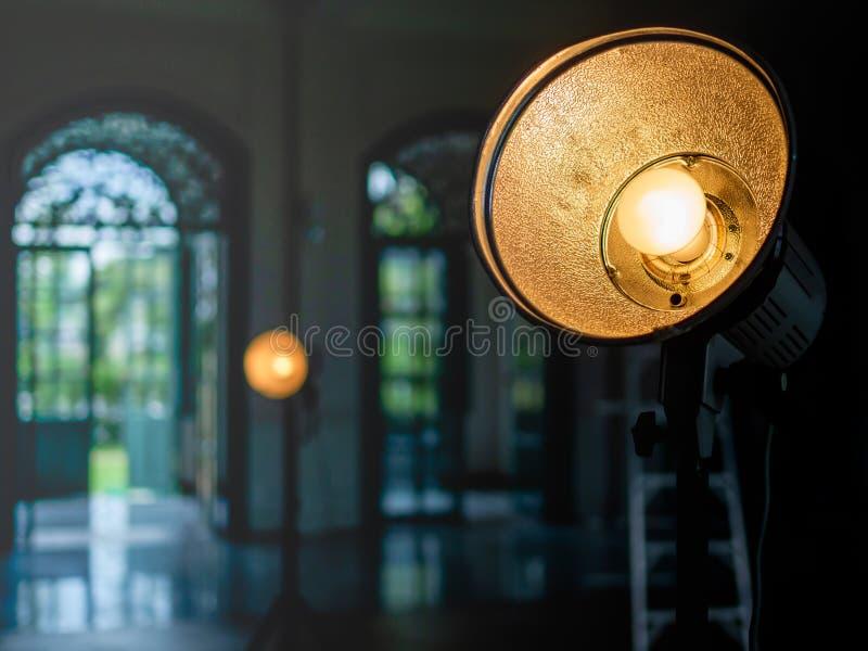 Sudio-Licht stockbilder