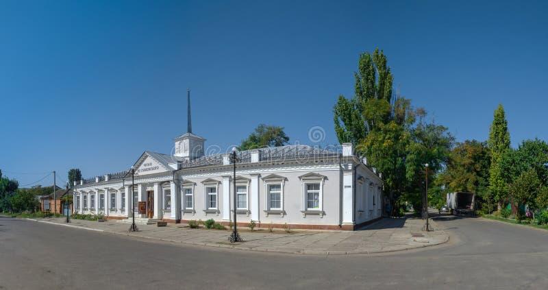 Sudkovsky Art Gallery i Ochakov, Ukraina royaltyfri foto