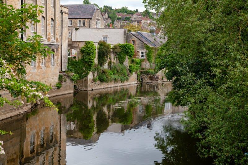 Sudoeste Inglaterra Reino Unido de Wiltshire da arquitetura de Bradford-em-Avon fotografia de stock royalty free