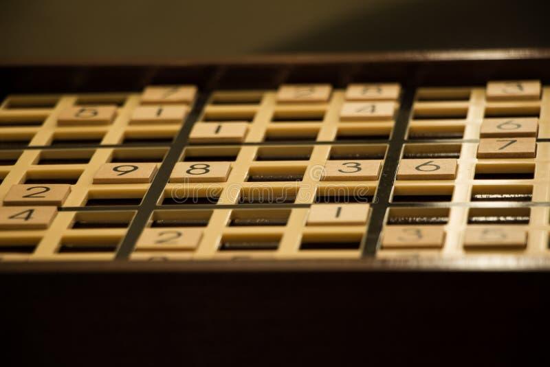 Sudoku委员会 库存照片