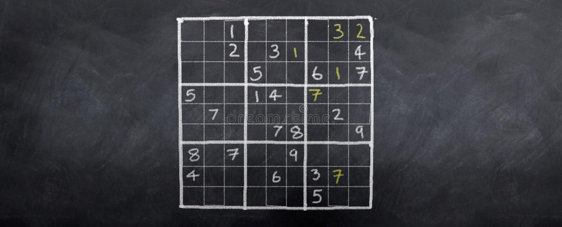 sudoku πρωτοπόρων διανυσματική απεικόνιση