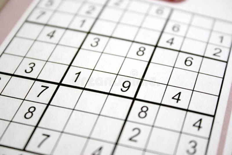 Sudoku photos stock