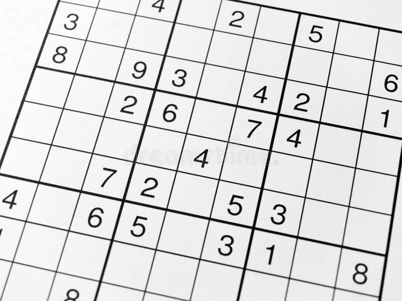 Download Sudoku stock image. Image of grid, crossword, craze, puzzle - 1713237