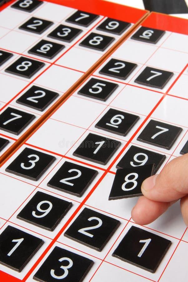 Sudoku stockbilder
