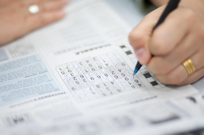 Sudoku 图库摄影
