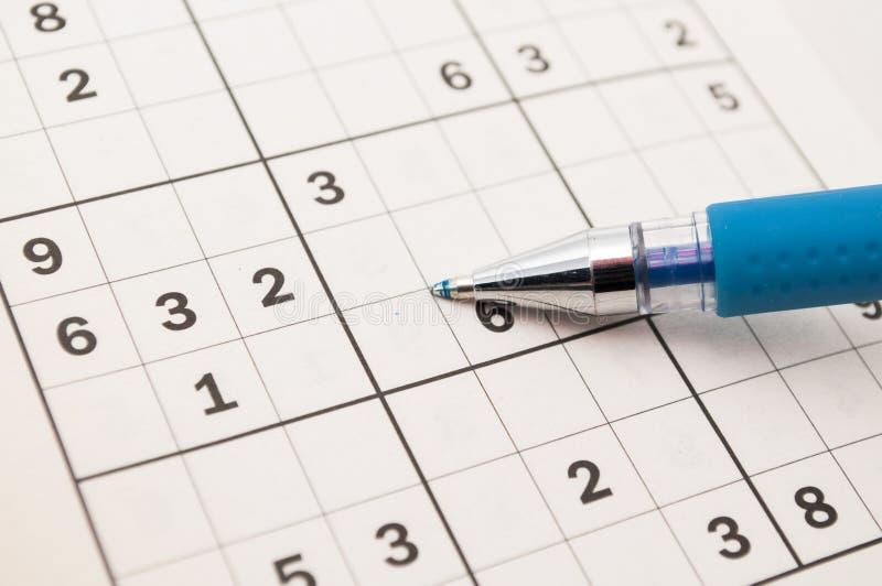 Sudoku zdjęcie stock