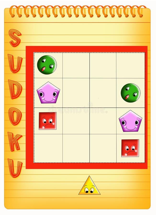 Sudoku 4 royalty free stock photography