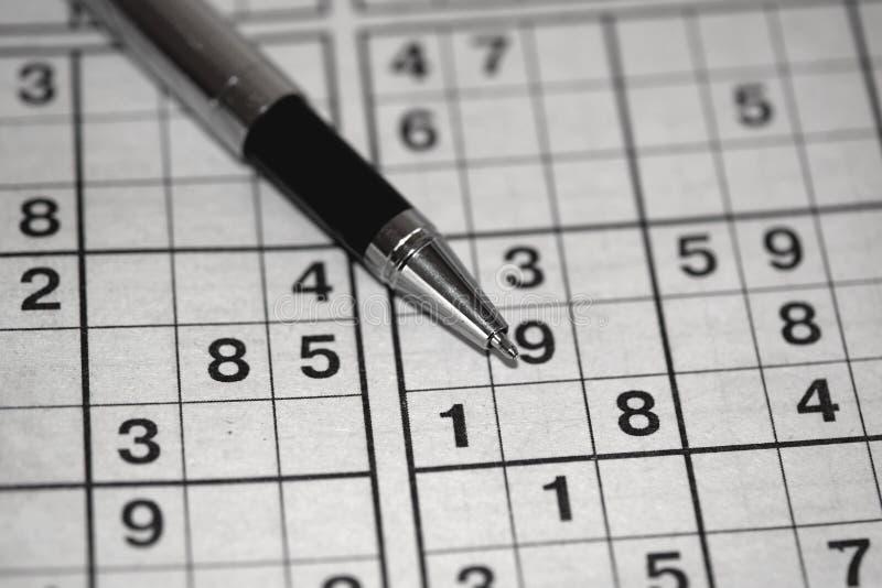 Sudoku 库存图片