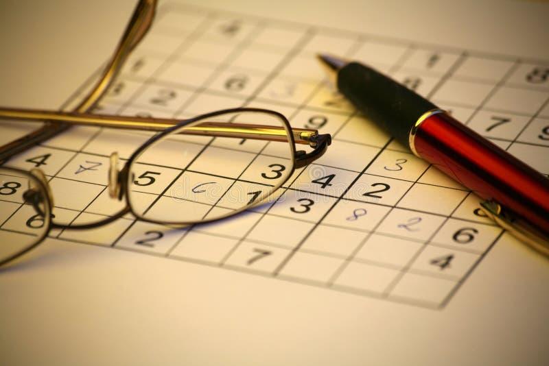 Sudoku stockbild