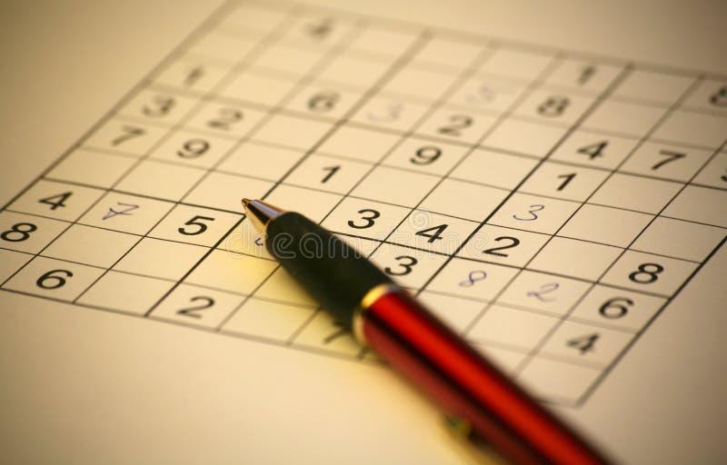 Download Sudoku arkivfoto. Bild av summor, gåta, övning, öppet, utbildning - 994884