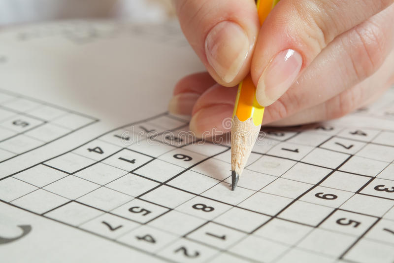 Sudoku royalty free stock images