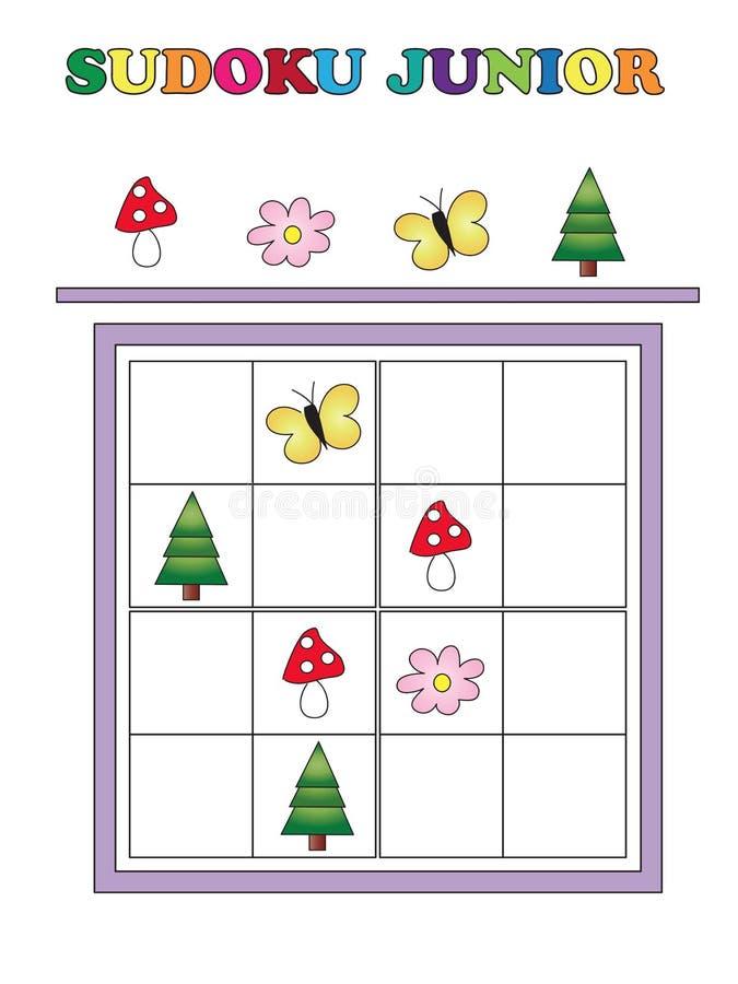 Sudoku junior royalty ilustracja