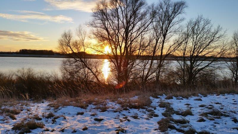 Sueño de enero del sol del invierno imagen de archivo libre de regalías