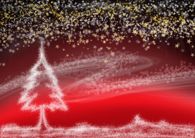 Sueño de la Navidad foto de archivo