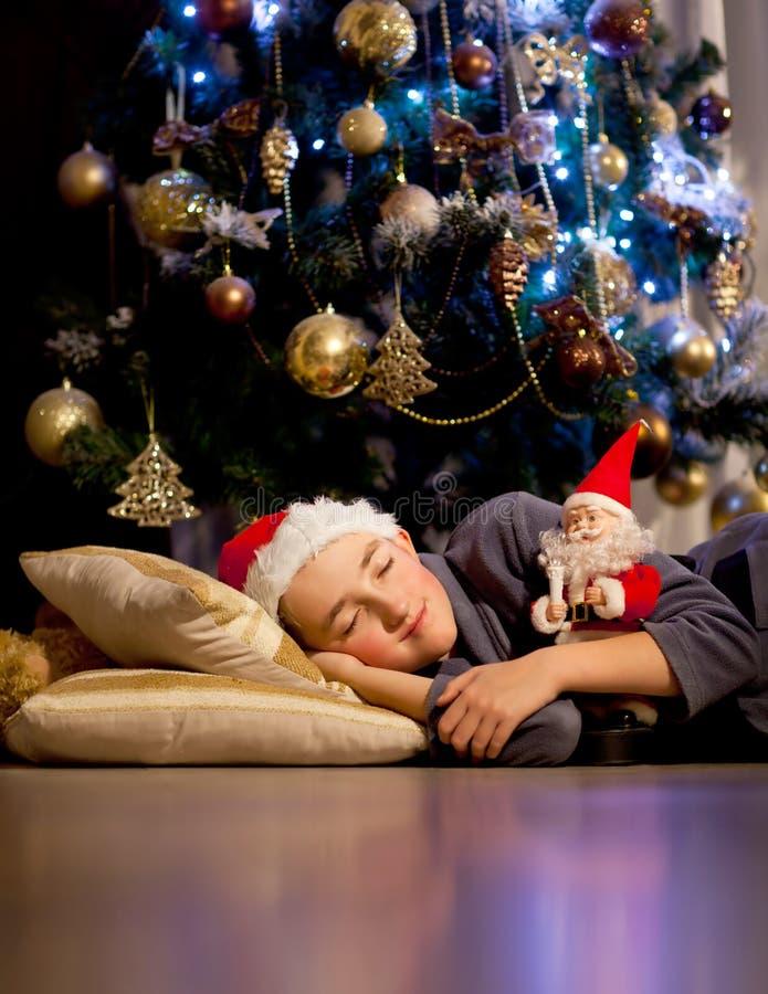 Sueño de la Navidad fotografía de archivo