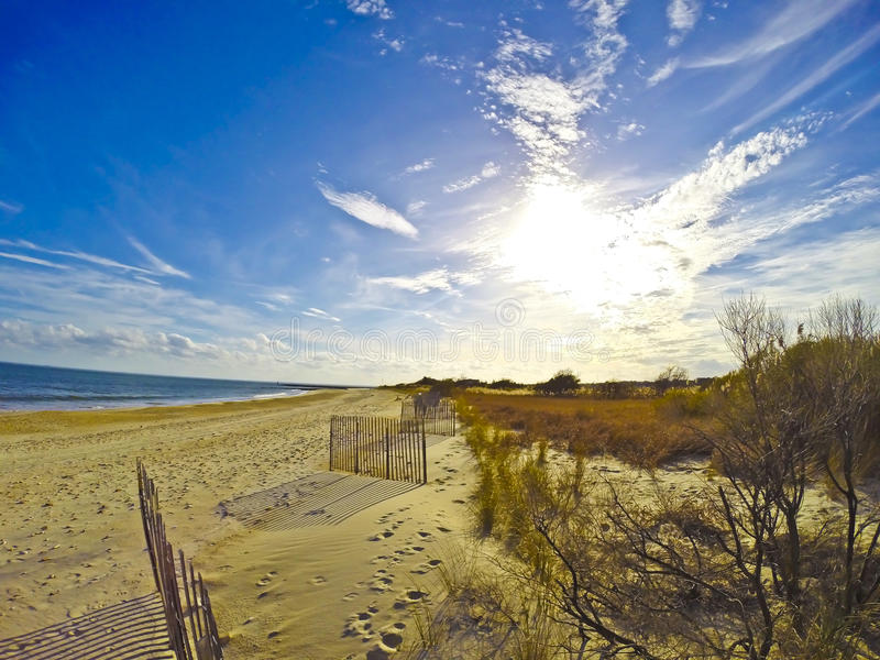 Sueño de la playa imagenes de archivo