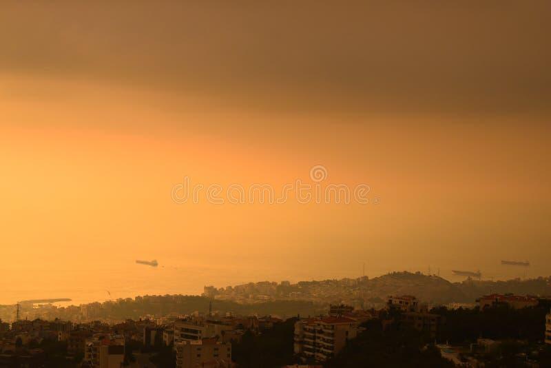 Sueño de una mejor mañana, Líbano agosto de 2019 fotos de archivo libres de regalías