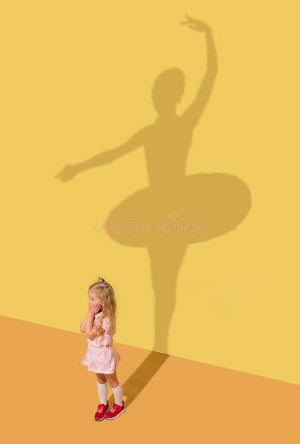 Sue?o sobre ballet imagen de archivo